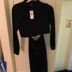 Two Piece Black Halo Dress - with tags!